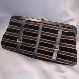 Saks Fifth Avenue Buckle Shoulder Bag